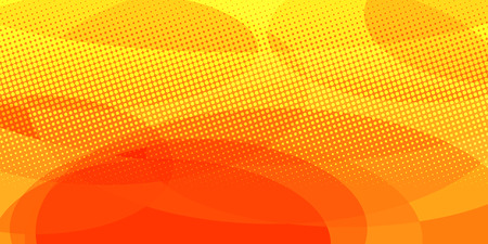 gele rode cirkels achtergrond. Popart retro vector illustratie vintage kitsch Vector Illustratie