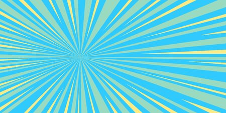blue rays pop art background retro vector stock illustration drawing