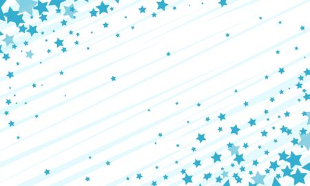 blue stars background. Pop art retro vector stock illustration drawing