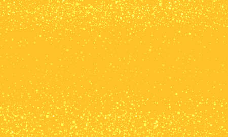 Golden Christmas background. Abstract yellow color with sequins