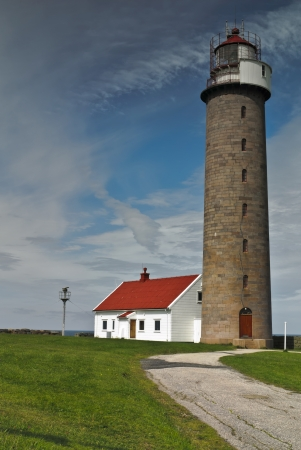 Lista lighthouse  Stock Photo
