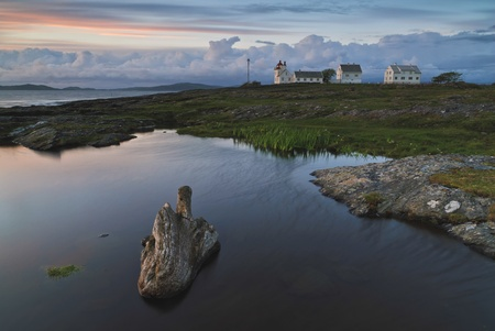 furthest: Tungenes lighthouse, the northern tip of the district of Jæren  The lighthouse is found furthest north in Randaberg municipality, Rogaland county, Norway