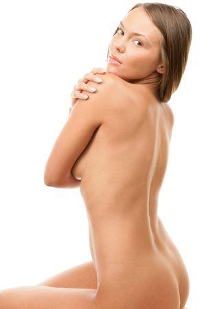 nudity girl: Beauty naked woman