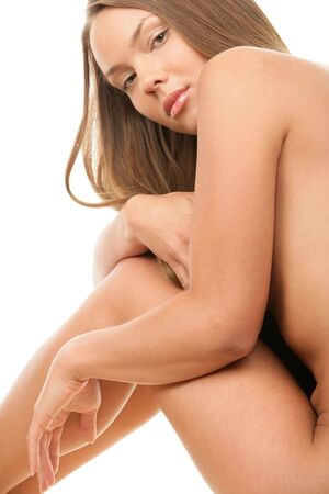 mujer desnuda: Mujer desnuda de belleza