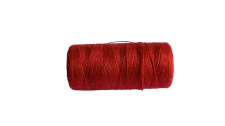 a skein of red thread
