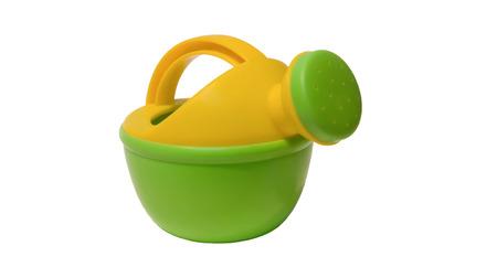 Children's toy watering can Standard-Bild - 116234897