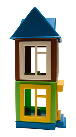 multi-storey toy house