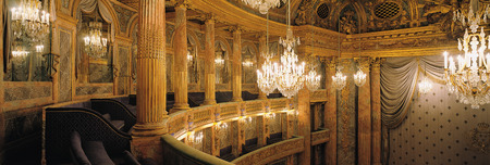 Versailles, France - 10 August 2014 : Royal Opera at Versailles Palace ( Chateau de Versailles ).