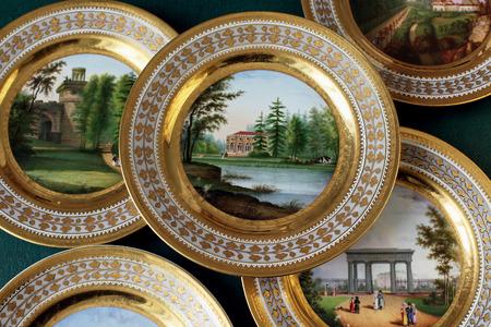 tsarskoye: Tsarskoye Selo, Russia - 05 March 2015 at Tsarskoye Selo Precious flat Pushkin Palace near Saint Petersburg