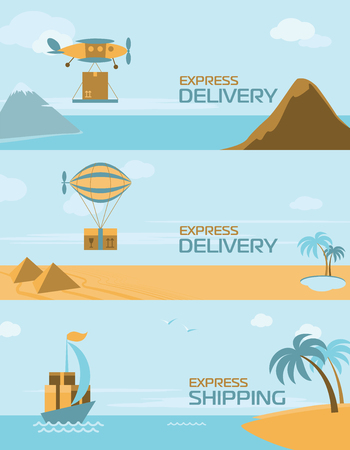 express delivery: Express delivery anywhere in the world
