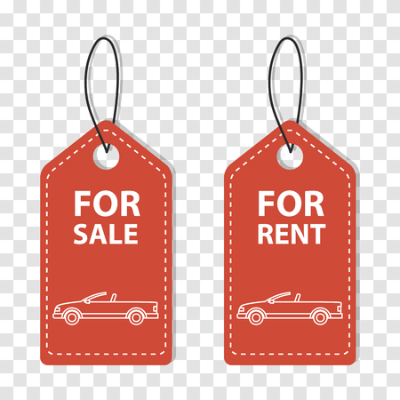 leasing: Order rent car, Rental services, Hire transport. Label of Hire Car.