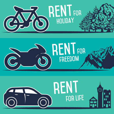 salesperson: Rent a cars, bike and motorcycle