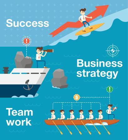 Le travail d'équipe et l'esprit d'équipe Banque d'images