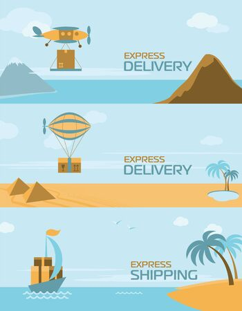 anywhere: Express delivery anywhere in the world