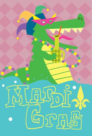 mardigras: Mardi Gras. Mardi Gras Abstract Background, Mardi Gras Vector Illustration. Attributes of Mardi Gras Festival.