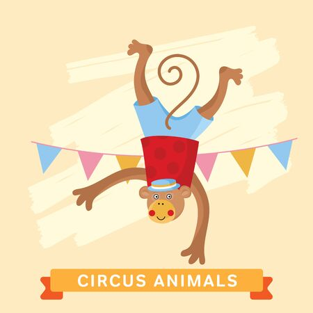cartoon circus: Circus Monkey