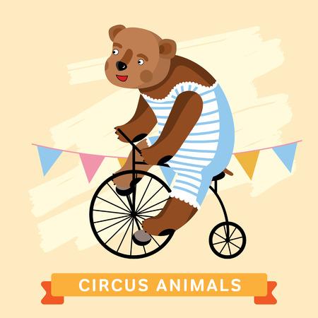 cartoon circus: Circus Bear