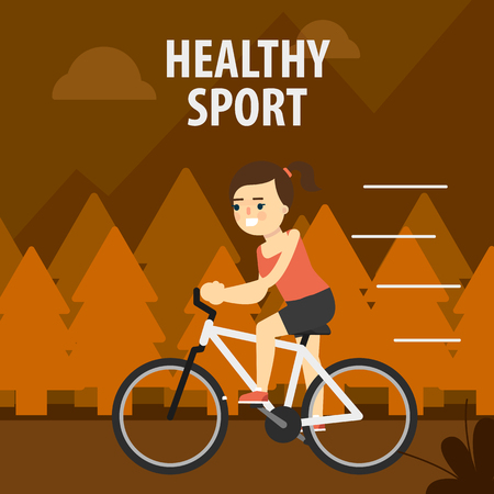 aerobic exercise: Aerobic exercise, running on cycling. Gymnastics, weight loss. Healthy lifestyle. Fit, athletic, activity, gymnasium.