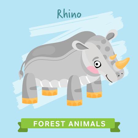 rhino vector: Rhino vector