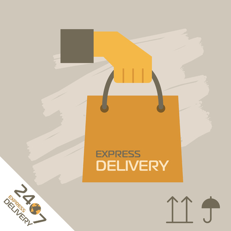 express: Express Delivery Services.