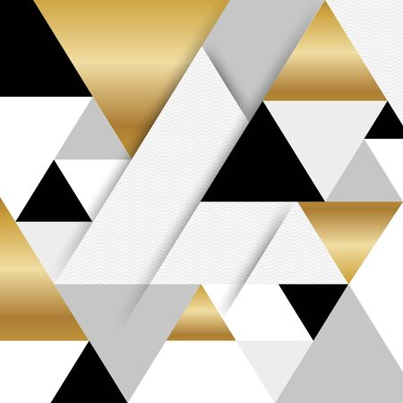 Gold abstract background raster Stock Photo