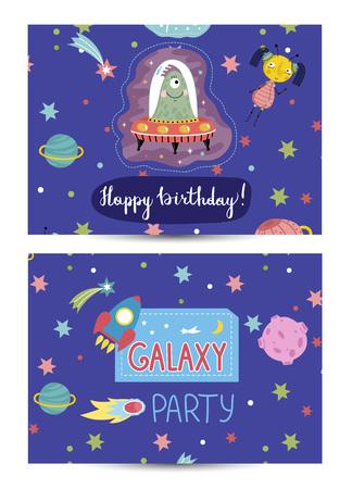 sides: Invitation on Children Costumed Birthday Party