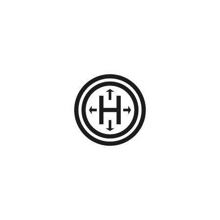 hermetic: Hermetic package symbol on white background Illustration