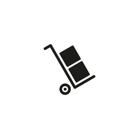 Only use the trolley symbol on white background