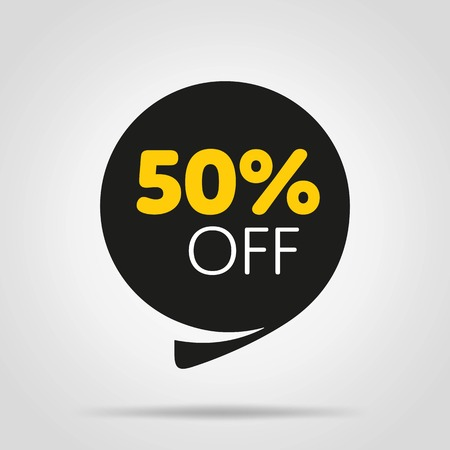 Special offer sale tag discount proposition Illustration