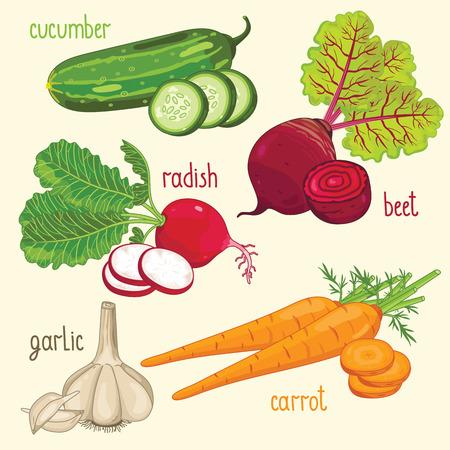 ration: Vegetable mix raster