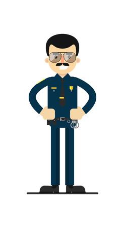 patrolman: Policeman in uniform.