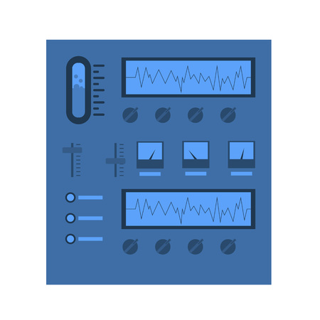 科学機器スタンド ベクトルのアイコン  イラスト・ベクター素材