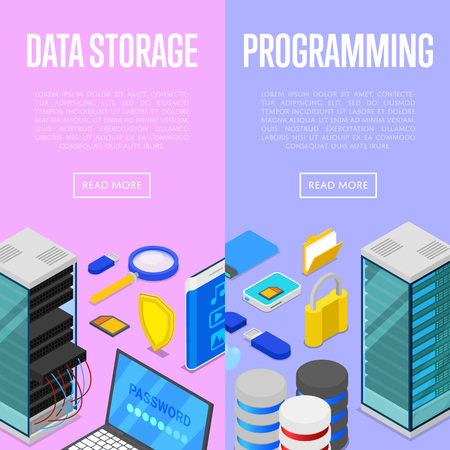 Data storage service and programing posters