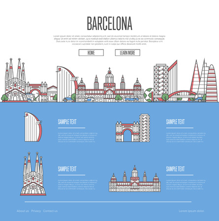 Barcelona city travel guide.