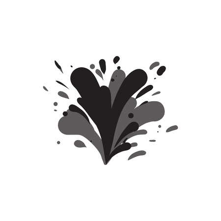 Water splash isolated vector icon Фото со стока - 95614934