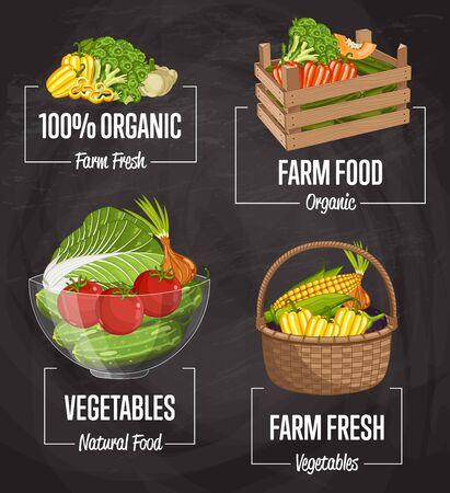 Organic concept de nourriture de ferme Banque d'images - 98118838