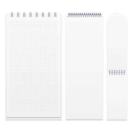 Set of spiral notebooks