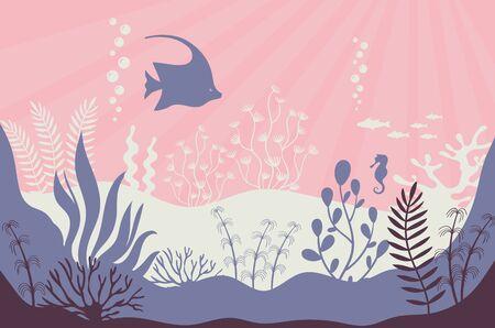 Coral reef. Marine underwater life