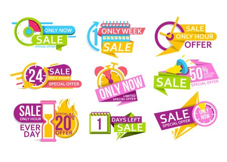Countdown banner to special offer of discount