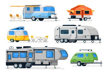 Motorhome, camper caravan and house truck