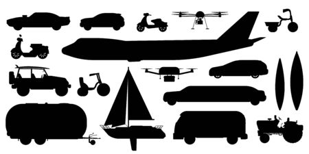 Vehicle transportation set