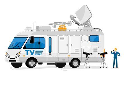 Broadcast bus. Isolated broadcasting communication