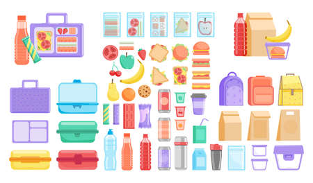 School or office lunch box, container