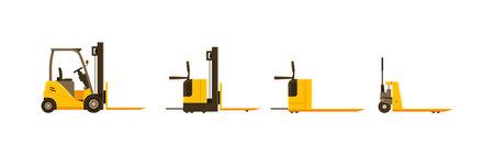 Forklift and pallet jack different model set