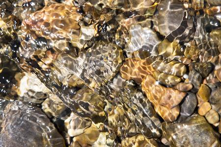 rocks under water photo