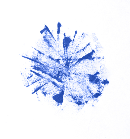 ink stains in blue tone photo