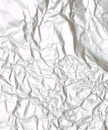 crumpled foil as a background Фото со стока - 32674408
