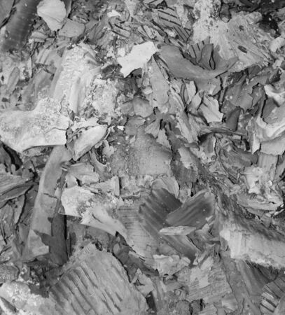 papel quemado: papel quemado