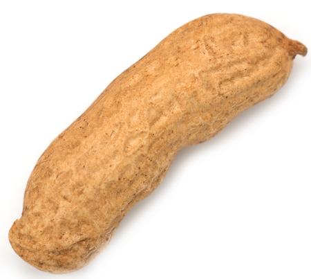 goober peas: peanut in a peel Stock Photo