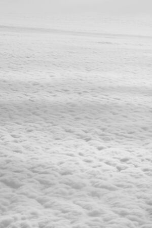 yellowed: clouds as background Stock Photo